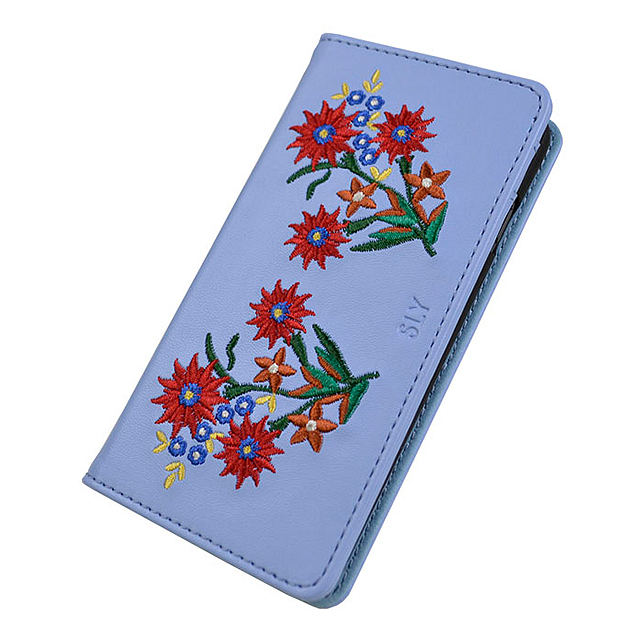 【iPhone8/7/6s/6 ケース】SLY  EMBROIDER (LIGHT BLUE)サブ画像