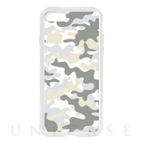 【iPhone8/7 ケース】HYBRID CASE for iPhone8/7 (Snow Camo)