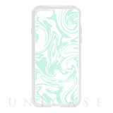【iPhone8/7 ケース】HYBRID CASE for iPhone8/7 (Sherbet Mint Marble)