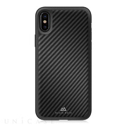 【iPhoneXS/X ケース】Material Case Real Carbon (Black)