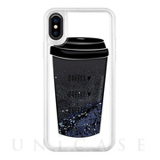 【iPhoneXS/X ケース】Exclusive Glitter coffee-coffee-coffee