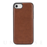 【iPhone8 ケース】CO-MOLDED INLAY (Brown Leather)