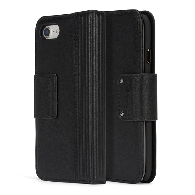 【iPhone8/7 ケース】FOLIO CASE (Black Leather)サブ画像