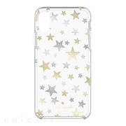 【iPhoneX ケース】Protective Hardshell Case (Stars Clear/Gold/Silver)
