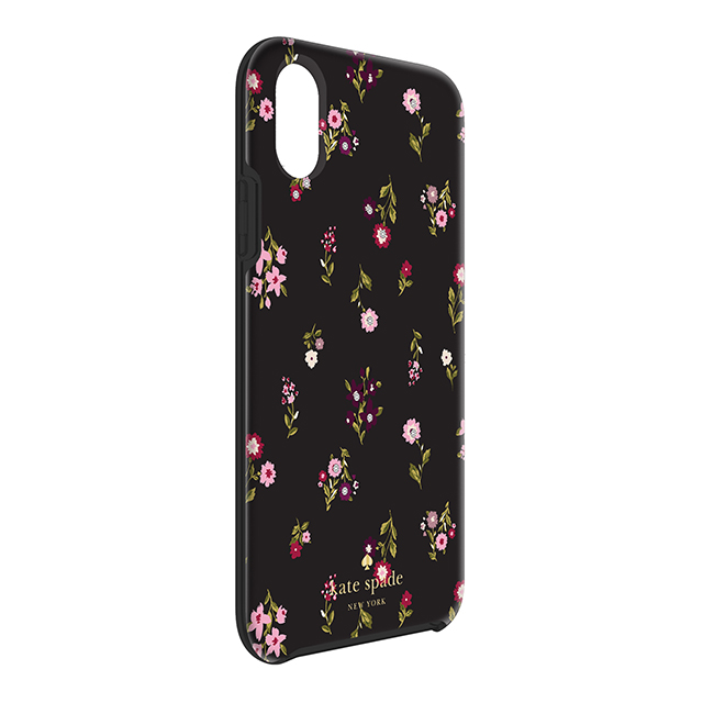 【iPhoneXS/X ケース】Protective Hardshell Case (Spriggy Floral Multi/Black/Gems)サブ画像