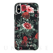 【iPhoneXS/X ケース】Leather Wrap Case (Printed Floral)