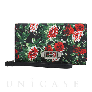 REBECCAMINKOFF(レベッカミンコフ)【iPhoneXS/X ケース】Love Lock Wristlet for Princess Peach (Printed Floral)