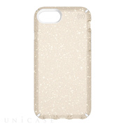 【iPhone8/7/6s ケース】Presidio Clear + Glitter (Clear With Gold)