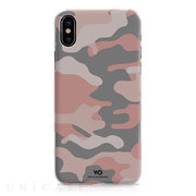 【iPhoneX ケース】Camouflage Case (Rose Gold)