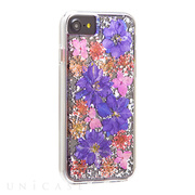 【iPhone8/7/6s/6 ケース】Karat Petals Case (Purple)