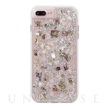【iPhone8 Plus ケース】Karat  Case (Mother of Pearl)