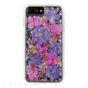 【iPhone8 Plus/7 Plus ケース】Karat Petals Case (Purple)