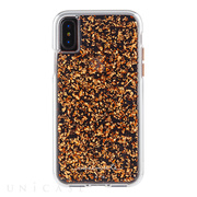 【iPhoneXS/X ケース】Karat Case (Rose Gold)