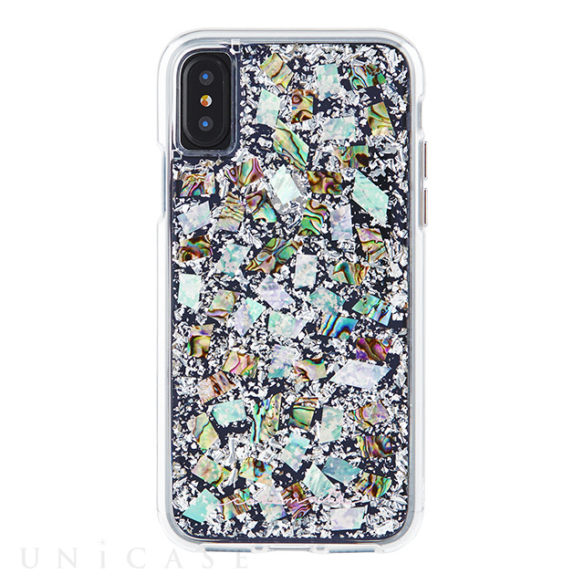 【iPhoneXS/X ケース】Karat Case (Mother of Pearl)