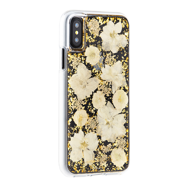 【iPhoneXS/X ケース】Karat Petals Case(Antique White)サブ画像