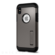 【iPhoneX ケース】Tough Armor (Gunmetal)
