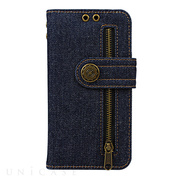 【iPhoneXS/X ケース】Diary Case Denim (Indigo)