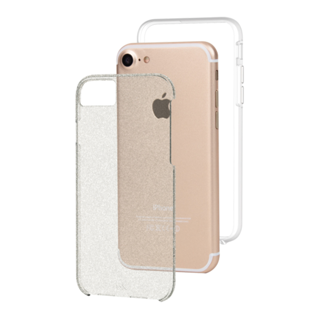 【iPhone8/7/6s/6 ケース】 Sheer Glam Case(Champagne)サブ画像