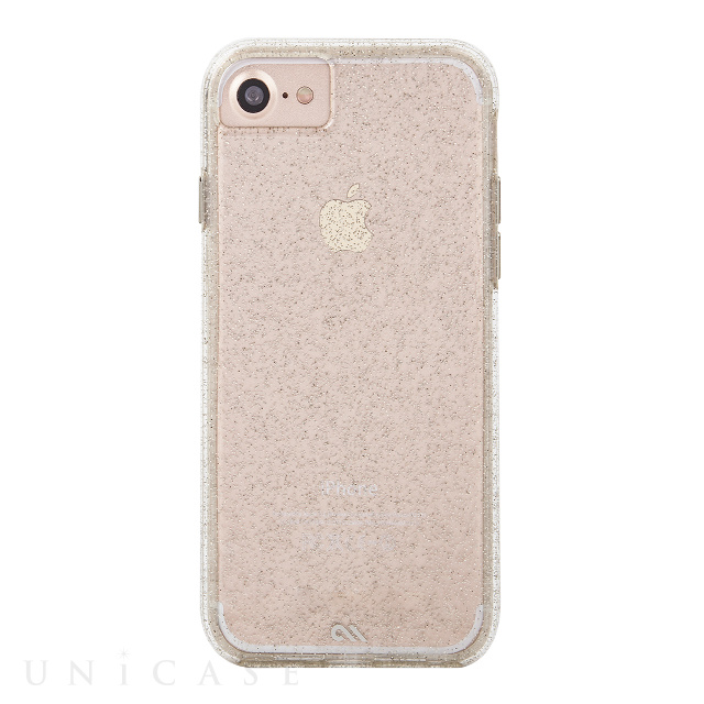 【iPhone8/7/6s/6 ケース】 Sheer Glam Case(Champagne)