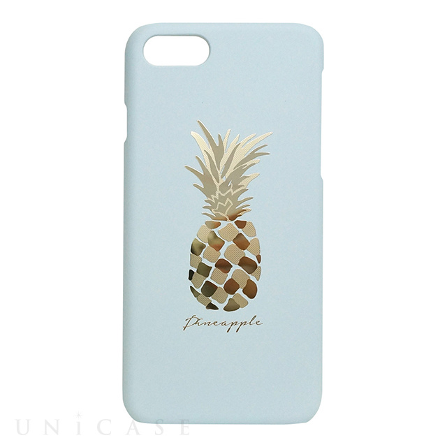 【iPhone8/7 ケース】Pineapple bar (ブルー)