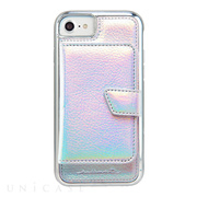 【iPhone8/7/6s/6 ケース】Compact Mirror Case (Iridescent)