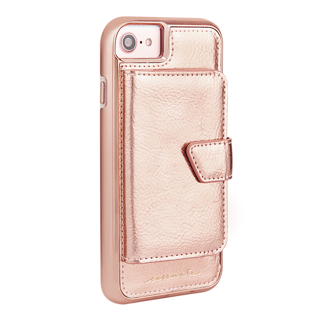 【iPhoneSE(第2世代)/8/7/6s/6 ケース】Compact Mirror Case (Rose Gold)サブ画像