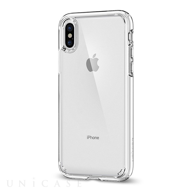 【iPhoneX ケース】Ultra Hybrid (Crystal Clear)