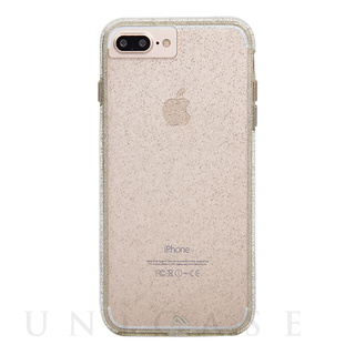 【iPhone8 Plus/7 Plus ケース】Sheer Glam Case (Champagne)