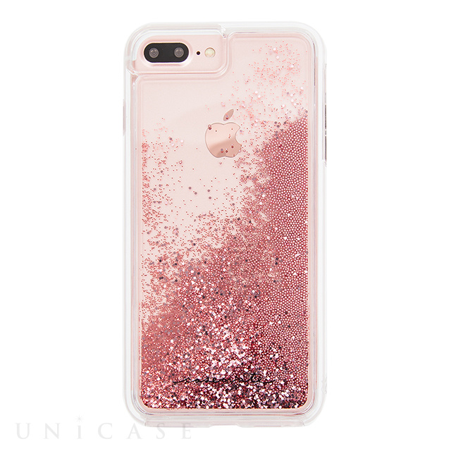 【iPhone8 Plus/7 Plus ケース】Waterfall Case (Rose Gold)