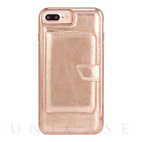 【iPhone8 Plus ケース】Compact Mirror Case (Rose Gold)