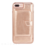 【iPhone8 Plus/7 Plus ケース】Compact Mirror Case (Rose Gold)