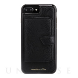 【iPhone8 Plus ケース】Compact Mirror Case (Black)