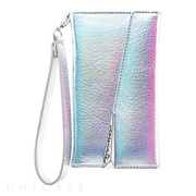 【iPhone8 Plus/7 Plus ケース】Wristlet Folio Case (Iridescent)