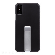 【iPhoneXS/X ケース】Tough Stand Case (Black)