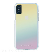 【iPhoneXS/X ケース】Naked Tough Case (Iridescent)