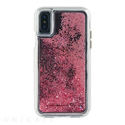 【iPhoneXS/X ケース】Waterfall Case (Rose Gold)