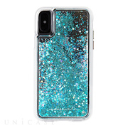 【iPhoneXS/X ケース】Waterfall Case (Teal)
