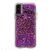 【iPhoneXS/X ケース】Waterfall Case (Magenta)