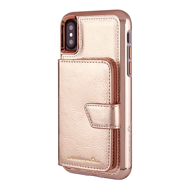 【iPhoneXS/X ケース】Compact Mirror Case (Rose Gold)goods_nameサブ画像
