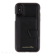 【iPhoneXS/X ケース】Compact Mirror Case (Black)