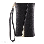 【iPhoneXS/X ケース】Wristlet Folio Case (Black)