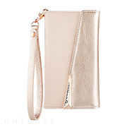 【iPhoneXS/X ケース】Wristlet Folio Case (Rose Gold)