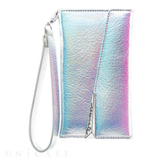 【iPhoneXS/X ケース】Wristlet Folio Case (Iridescent)