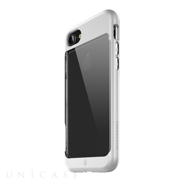 【iPhone8/7 ケース】Sentinel Contour Case (Silver)