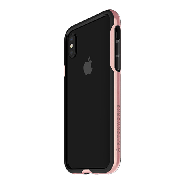 【iPhoneXS/X ケース】Level Silhouette Case (Pink)サブ画像