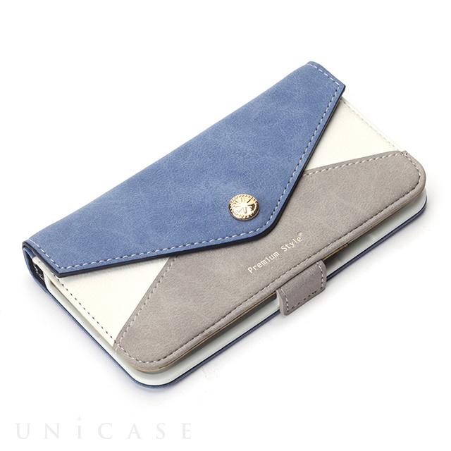 ... 【iPhone8/7/6s/6 ケース】フリップカバー レター型ポケット ...