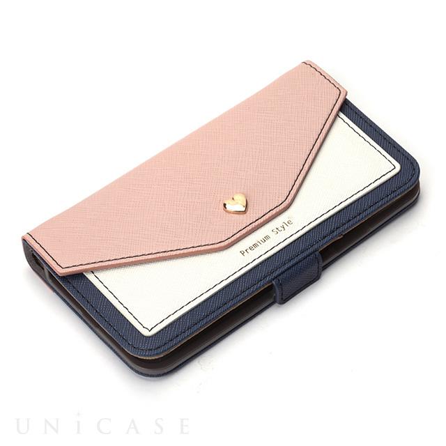 ... 【iPhone8/7/6s/6 ケース】フリップカバー スクエア型ポケット ...