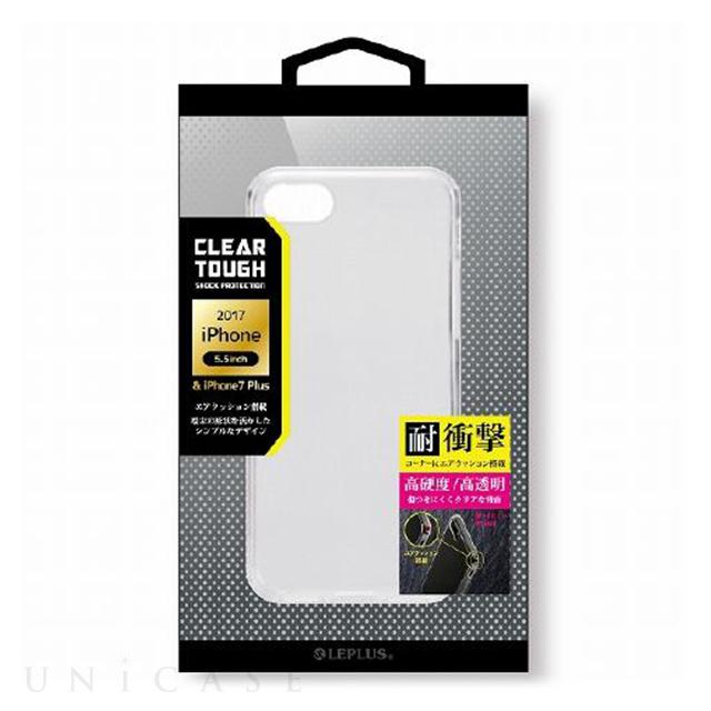 【iPhone8 Plus/7 Plus ケース】  耐衝撃ハイブリッドケース「CLEAR TOUGH」 クリア