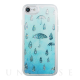 【iPhone8/7 ケース】Sparkle case (Raining day)