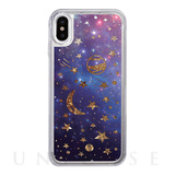 【iPhoneX ケース】Sparkle case (Space)